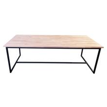 Quadrum dinertafel zwart