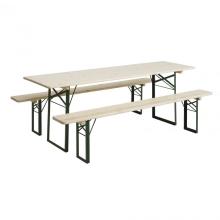 Set Woodstock tafel + zitbank