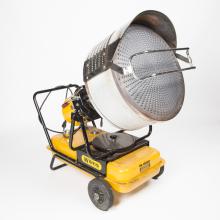 Warme luchtblazer 230V inclusief petroleum