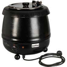 Soepverwarmer 10l (vloeistof uit de warmer halen)